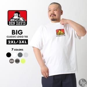 [ビッグサイズ] ベンデイビス Tシャツ 半袖 メンズ 大きいサイズ USAモデル|ブランド BEN DAVIS|半袖Tシャツ ロゴT アメカジ ビッグシルエット|f-box