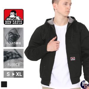 ベンデイビス ジャケット メンズ ワークジャケット 黒 ブラック BEN DAVIS ベンデイビス 大きいサイズ アメカジ ブランド|f-box