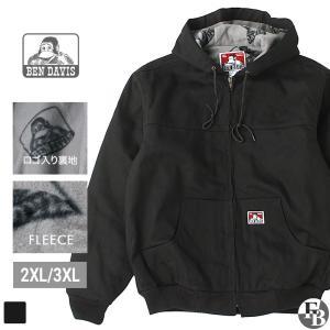 【大きいサイズ】 BEN DAVIS ベンデイビス ジャケット メンズ ワークジャケット 黒 ブラック 大きいサイズ アメカジ ブランド|f-box
