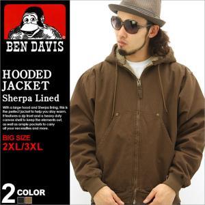 【BIGサイズ】 2XL/3XL│BEN DAVIS ベンデイビス ジャケット メンズ ワークジャケット 黒 ブラック 大きいサイズ アメカジ ブランド|f-box