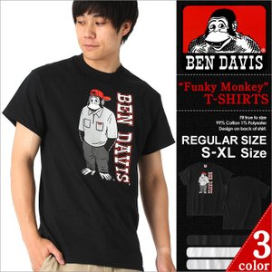 ベンデイビス Tシャツ 半袖 メンズ 大きいサイズ USAモデル|ブランド BEN DAVIS|半袖Tシャツ ロゴT アメカジ ビッグシルエット|f-box