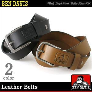 ベンデイビス ベルト メンズ 本革 レザー 大きいサイズ USAモデル|ブランド BEN DAVIS|アメカジ カジュアル|f-box