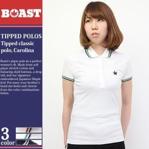 ボースト ポロシャツ 半袖 レディース 10012|ブランド BOAST|半袖ポロシャツ テニス テニスウェア 鹿の子|f-box