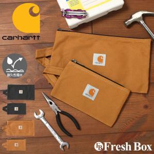 Carhartt カーハート 工具 バッグ ポーチ ブランド メンズ トラベルポーチ おしゃれ クラッチバッグ 撥水加工 [carhartt-100902] (USAモデル) f-box