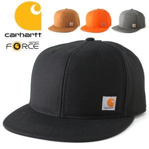 カーハート CARHARTT キャップ 帽子 メンズ 大きい スナップバックキャップ アメカジ キャップ carhartt force|f-box