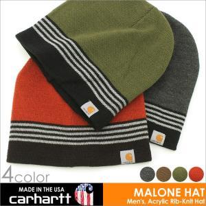 カーハート 帽子 ニット帽 マローンハット メンズ レディース 101804 USAモデル│ブランド ボーダー ニットキャップ ビーニー|アメカジ|f-box
