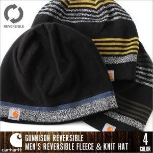 Carhartt カーハート キャップ ニット メンズ リバーシブル フリース ニットキャップ 帽子 ニットキャップ ニット帽 メンズ carhartt ニット帽|f-box