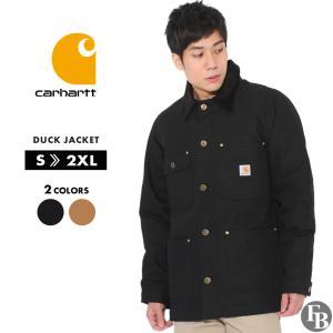 Carhartt カーハート ジャケット メンズ ブランド 秋冬 ダックジャケット 大きいサイズ ダックチョアコート (USAモデル)|f-box