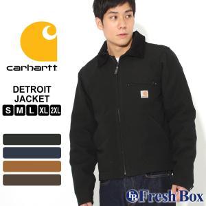Carhartt カーハート ジャケット メンズ ブランド 秋冬 ダックジャケット 大きいサイズ ダックデトロイトジャケット (USAモデル)|f-box