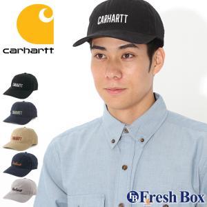 カーハート キャップ メンズ レディース 104188 USAモデル|ブランド Carhartt|帽子 ローキャップ サイズ調整可能|f-box