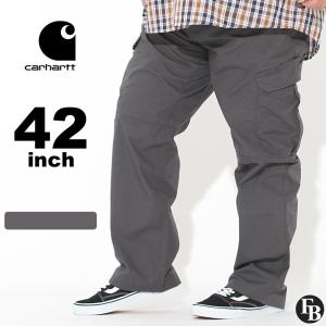 [ビッグサイズ] カーハート カーゴパンツ ジッパーフライ リップストップ メンズ 大きいサイズ 104200 USAモデル|ブランド Carhartt|ワークパンツ 作業着|f-box