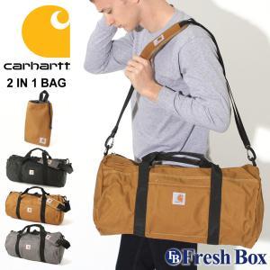 【ブラックフライデー】 カーハート バッグ ボストンバッグ ポーチ付き 折りたたみ 大容量 メンズ レディース 160221B Carhartt 修学旅行 パッカブル 撥水|f-box