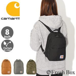 Carhartt カーハート バッグ ブランド ミニリュック レディース バックパック 8inch 撥水加工 [carhartt-221301] (USAモデル) f-box