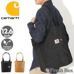 Carhartt カーハート トートバッグ メンズ ブランド a4 縦型 大きめ 型掛け メンズ 肩掛け バッグ 撥水加工 [carhartt-244702] (USAモデル) f-box