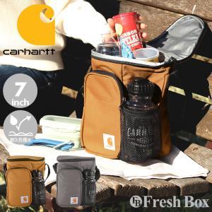 Carhartt カーハート 保冷バッグ ブランド 大容量 水筒付き ショルダーバッグ メンズ 斜めがけ [carhartt-502100] (USAモデル) f-box