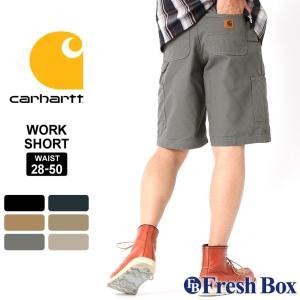 カーハート ハーフパンツ ペインター 膝上 メンズ 大きいサイズ B147 USAモデル│ショートパンツ ワークショーツ アメカジ カジュアル [ビッグサイズ]|f-box