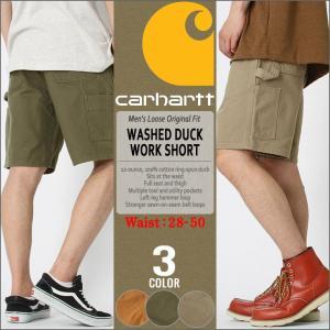 カーハート ハーフパンツ ひざ下 メンズ ペインター 大きいサイズ b25 USAモデル│ブランド ショートパンツ アメカジ|f-box
