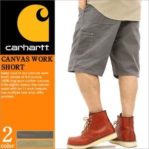 カーハート ハーフパンツ ひざ下 メンズ ペインター ウォッシュ加工 大きいサイズ B278 USAモデル│ブランド ショートパンツ アメカジ|f-box