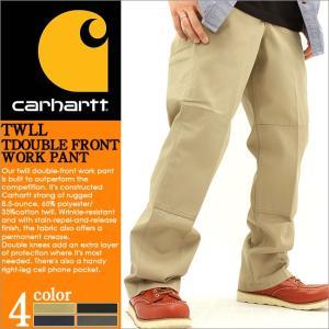 Carhartt カーハート ワークパンツ メンズ チノパン 大きいサイズ ゆったり アメカジ ブランド ダブルニー (carhartt b316) f-box