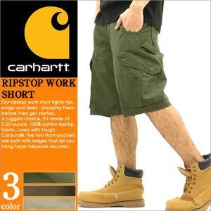 Carhartt カーハート ハーフパンツ メンズ カーゴパンツ メンズ ミリタリー ブランド 大きいサイズ アメカジ ストリート (b357) (短パン ショートパンツ)|f-box