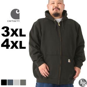 [ビッグサイズ] カーハート パーカー ジップアップ メンズ 大きいサイズ k122 USAモデル│ブランド スウェット アメカジ 裏起毛|f-box