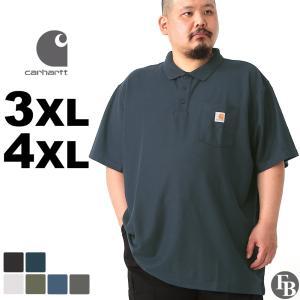 【BIGサイズ】 Carhartt カーハート ポロシャツ メンズ 大きいサイズ メンズ 全7色 ポロシャツ 半袖 ポケット付 メンズ アメカジ ポロシャツ f-box