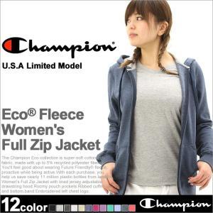 チャンピオン パーカー ジップアップ レディース 大きいサイズ USAモデル|ブランド スウェット ロゴ アメカジ|f-box