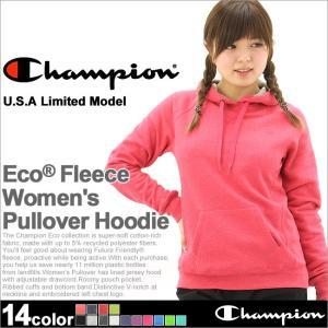 チャンピオン パーカー プルオーバー レディース 大きいサイズ USAモデル|ブランド スウェット ロゴ アメカジ|f-box