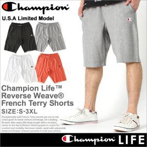 Champion チャンピオンハーフパンツ メンズ リバースウィーブ ハーフパンツ メンズ スポーツ ショートパンツ メンズ 大きいサイズ メンズ|f-box