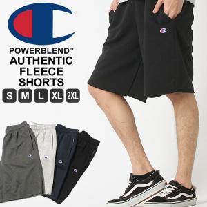 チャンピオン スウェット ハーフパンツ 膝上 メンズ 大きいサイズ USAモデル|ブランド ショートパンツ ロゴ アメカジ|f-box