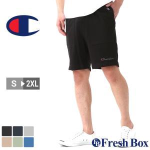 Champion チャンピオン ハーフパンツ メンズ スポーツ ルームウェア ショートパンツ 膝上 大きいサイズ 夏服 [85867-586321] (USAモデル) f-box