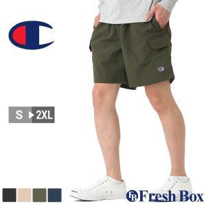 Champion チャンピオン ハーフパンツ メンズ スポーツ ルームウェア ショートパンツ 膝上 大きいサイズ 夏服 [85872] (USAモデル) f-box