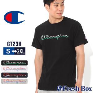 チャンピオン Tシャツ 半袖 クルーネック メンズ 大きいサイズ GT23H Y08126 USAモデル|ブランド Champion|半袖Tシャツ アメカジ|f-box