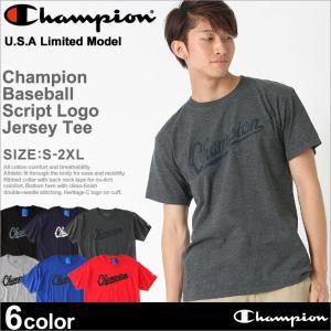 チャンピオン Tシャツ 半袖 メンズ 大きいサイズ USAモデル|ブランド 半袖Tシャツ ビッグロゴ アメカジ|f-box