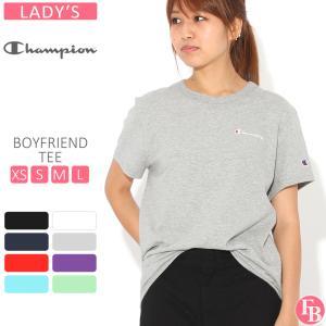 【ブラックフライデー】 [レディース] チャンピオン Tシャツ 半袖 クルーネック 綿100% ゆったり 大きいサイズ GT949 Y08160 ブランド アメカジ USAモデル|f-box