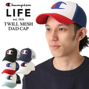 チャンピオン メッシュキャップ メンズ レディース 帽子|USAモデル ブランド Champion|スナップバックキャップ アメカジ|f-box