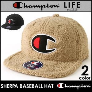 チャンピオン キャップ ボア メンズ レディース 帽子 USAモデル|ブランド ビッグロゴ アメカジ 秋冬|f-box