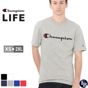 チャンピオン Tシャツ 半袖 メンズ 大きいサイズ USAモデル|ブランド 半袖Tシャツ ロゴ アメカジ|f-box