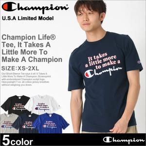チャンピオン Tシャツ 半袖 メンズ ブランド 大きいサイズ USAモデル|ブランド 半袖Tシャツ アメカジ ロゴ|f-box