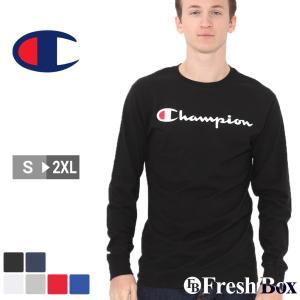 チャンピオン Champion チャンピオン ロンt メンズ チャンピオン ロンt メンズ ブランド アメカジ Tシャツ 長袖 大きいサイズ メンズ|f-box