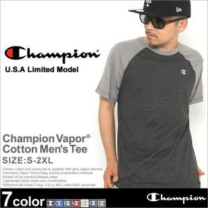 チャンピオン Tシャツ ラグラン 半袖 メンズ 大きいサイズ USAモデル|ブランド 半袖Tシャツ ロゴ アメカジ|f-box