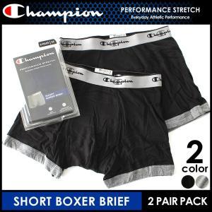 チャンピオン Champion ボクサーパンツ メンズ セット 2枚組み ボクサーブリース 大きいサイズ (返品・交換は不可)|f-box