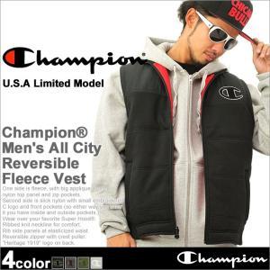Champion チャンピオン ベスト メンズ リバーシブル ベスト p15-1105|f-box