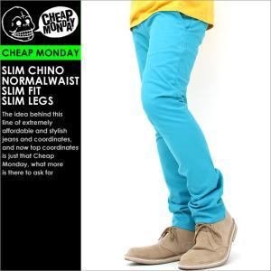 チープマンデー パンツ スリム ストレッチ メンズ|USAモデル CHEAP MONDAY|ストレート チノパン|f-box