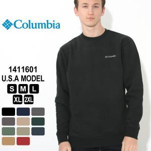 Columbia コロンビア トレーナー スウェット フリース メンズ 1411601 ブランド スエードフリース 防寒|f-box
