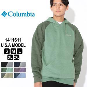 Columbia コロンビア パーカー プルオーバー ラグランスリーブ 1411611 ブランド フリースフーディー 防寒 f-box