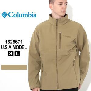 コロンビア ジャケット ソフトシェル 1625671 ブランド Columbia アウター 防寒 耐久 耐風 防汚 撥水 オムニシールド f-box