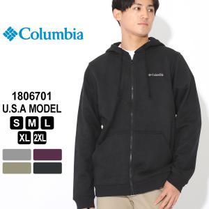 Columbia コロンビア パーカー ジップアップ 1806701 ブランド フルジップフーディー 防寒 f-box