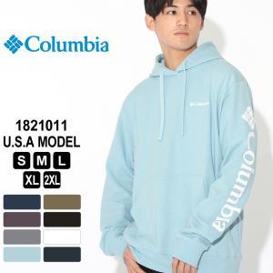Columbia コロンビア パーカー プルオーバー スリーブグラフィック 1821011 ブランド スウェット 防寒 f-box