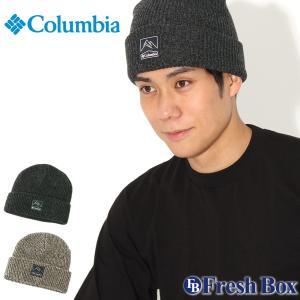 Columbia コロンビア ニット帽 メンズ ブランド ニットキャップ 折り返し ビーニー 帽子 メンズ ニット キャップ (columbia-1911321) f-box